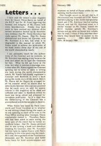 Jean Stean letter