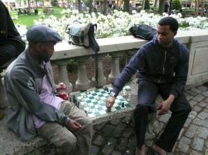 Skittles in Rittenhouse Square ©Kingpin