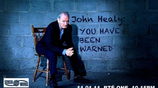 John Healy you have been warned