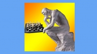 featured image background blue rodin