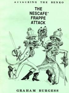 nescafe frappe cover original