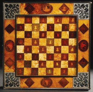 Charles I's chess board