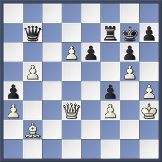 Botvinnik-Capablanca after 38 exd6+
