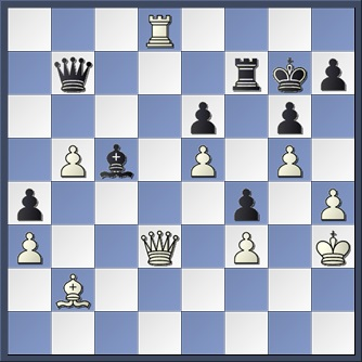 Botvinnik v Capablanca 1936 after 36 Bc5