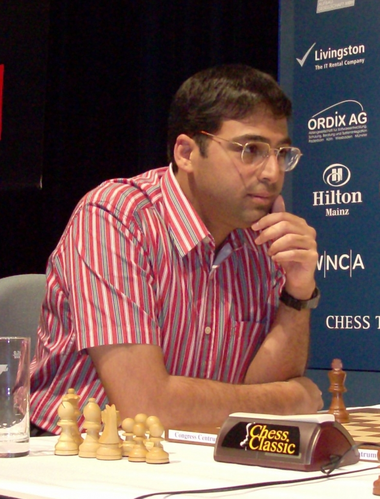 Vishy Anand in 2009