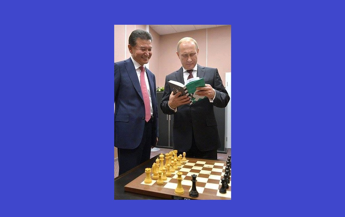 Vladimir Putin Doesn't Play Chess